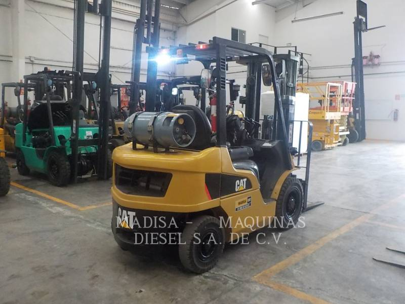 MITSUBISHI CATERPILLAR FORKLIFT MONTACARGAS 2P5000  equipment  photo 4