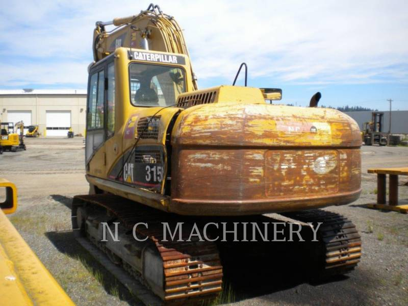 CATERPILLAR KETTEN-HYDRAULIKBAGGER 315C L equipment  photo 4