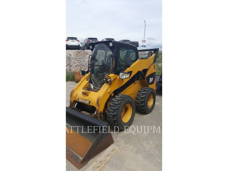 CATERPILLAR MINICARREGADEIRAS 262C equipment  photo 1