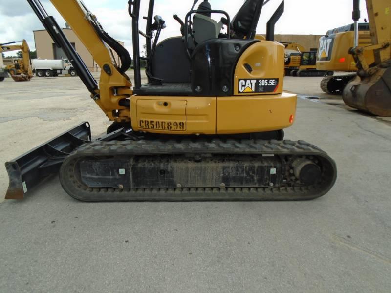CATERPILLAR KETTEN-HYDRAULIKBAGGER 305.5E2CR equipment  photo 10