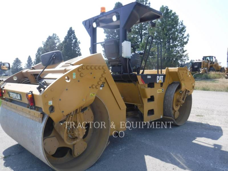 CATERPILLAR TANDEMVIBRATIONSWALZE, ASPHALT CB64 equipment  photo 8