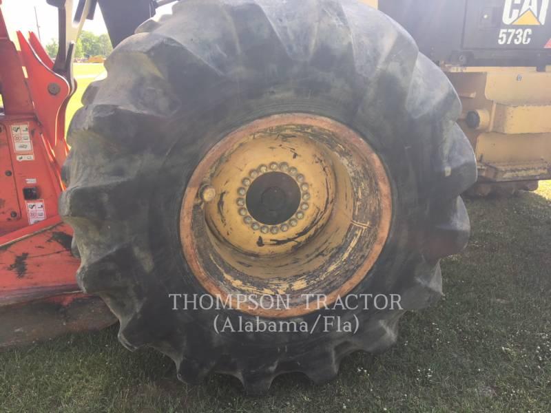 CATERPILLAR FORESTRY - FELLER BUNCHERS - WHEEL 573C equipment  photo 13