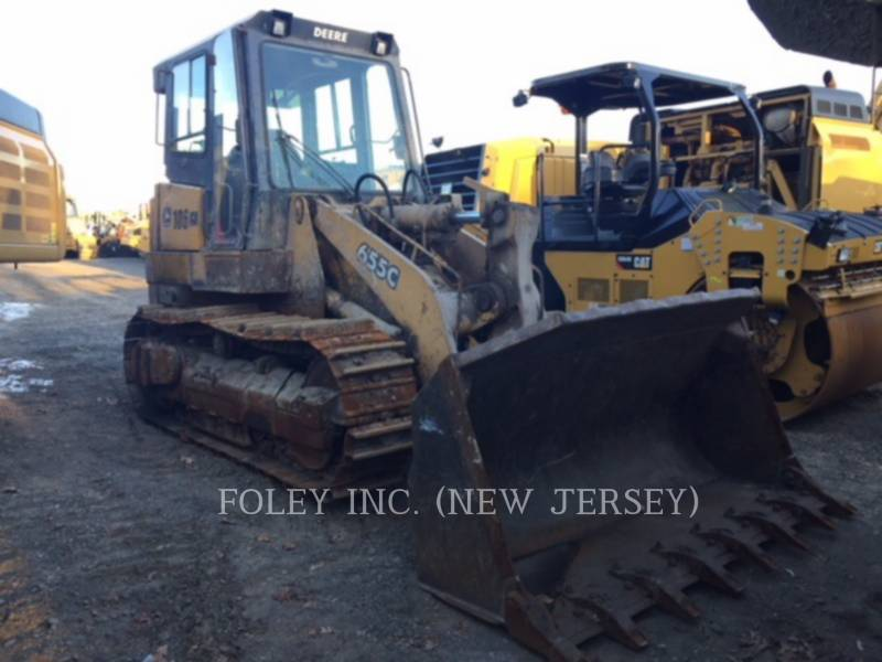 DEERE & CO. CHARGEURS SUR CHAINES 655C equipment  photo 1