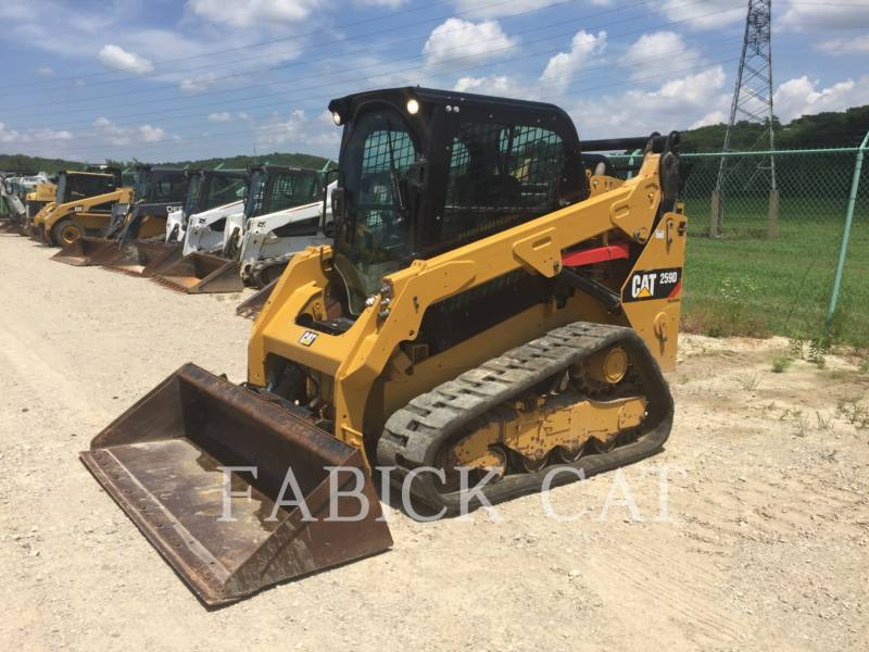 CATERPILLAR CHARGEURS TOUT TERRAIN 259D C3H2 equipment  photo 2