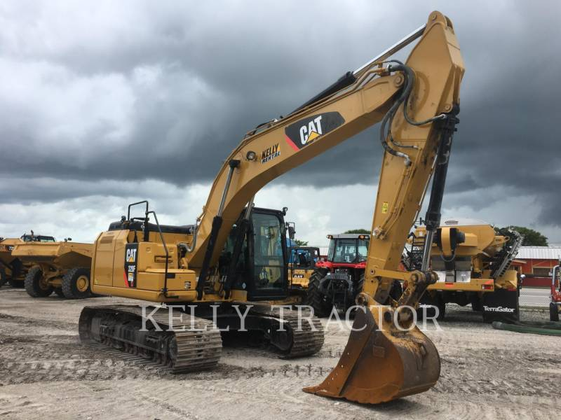 CATERPILLAR KETTEN-HYDRAULIKBAGGER 320FL equipment  photo 7