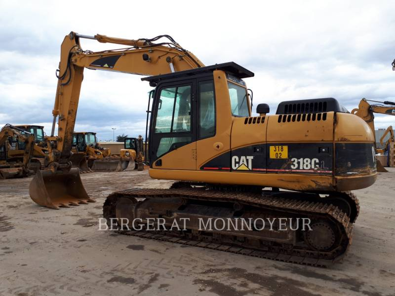 CATERPILLAR TRACK EXCAVATORS 318C equipment  photo 3