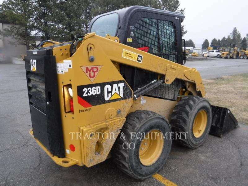 CATERPILLAR MINICARGADORAS 236D H2CB equipment  photo 7