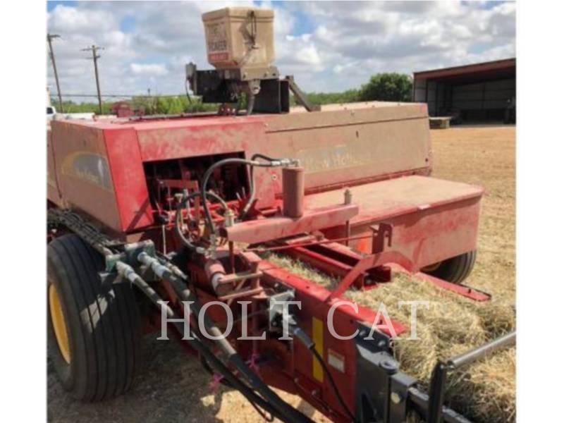 NEW HOLLAND LTD. MATERIELS AGRICOLES POUR LE FOIN BC5070 HAYLINER equipment  photo 3