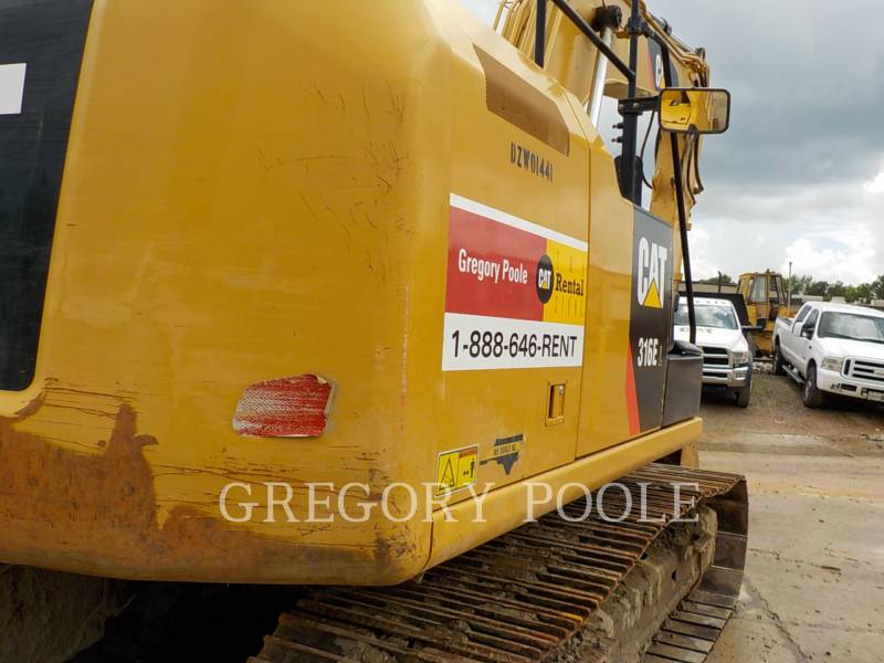 CATERPILLAR PELLES SUR CHAINES 316E L equipment  photo 12