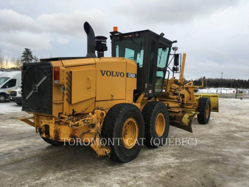 VOLVO MOTONIVELADORAS G740B equipment  photo 4