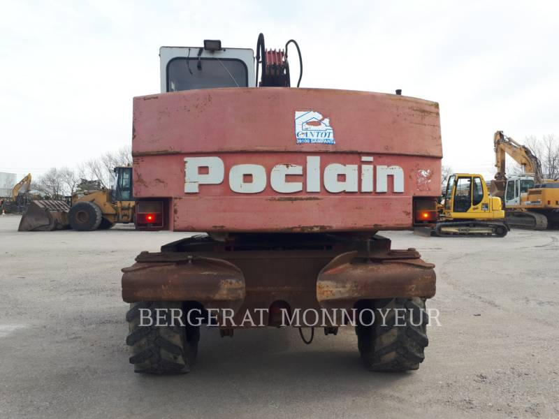 POCLAIN WHEEL EXCAVATORS P61 equipment  photo 6