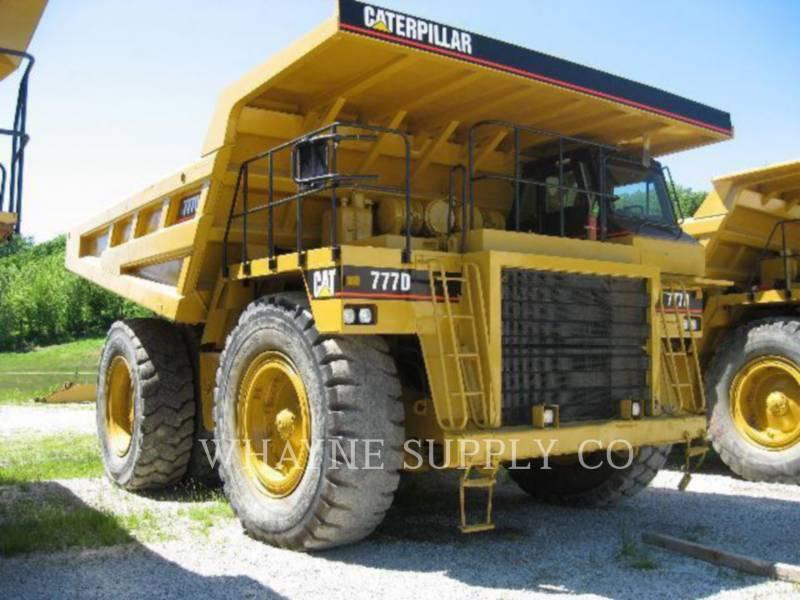 Caterpillar CAMIOANE PENTRU TEREN DIFICIL 777D equipment  photo 1