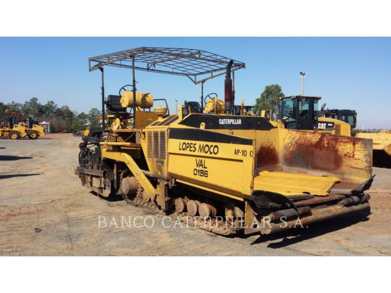 CATERPILLAR ASPHALT PAVERS AP-1050 equipment  photo 1