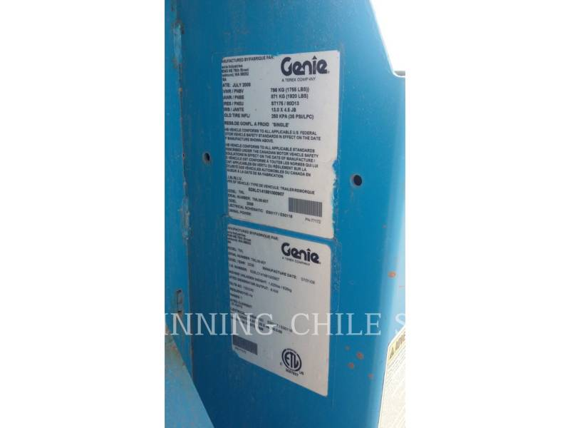 GENIE INDUSTRIES TORRE DE ALUMBRADO TML-4000N equipment  photo 3