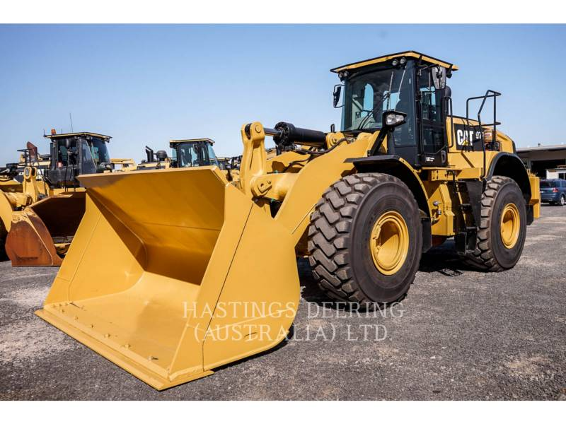 CATERPILLAR RADLADER/INDUSTRIE-RADLADER 972M equipment  photo 1