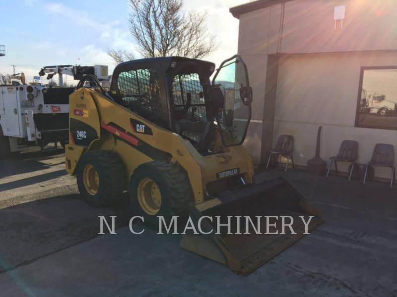 CATERPILLAR PALE COMPATTE SKID STEER 246C equipment  photo 4