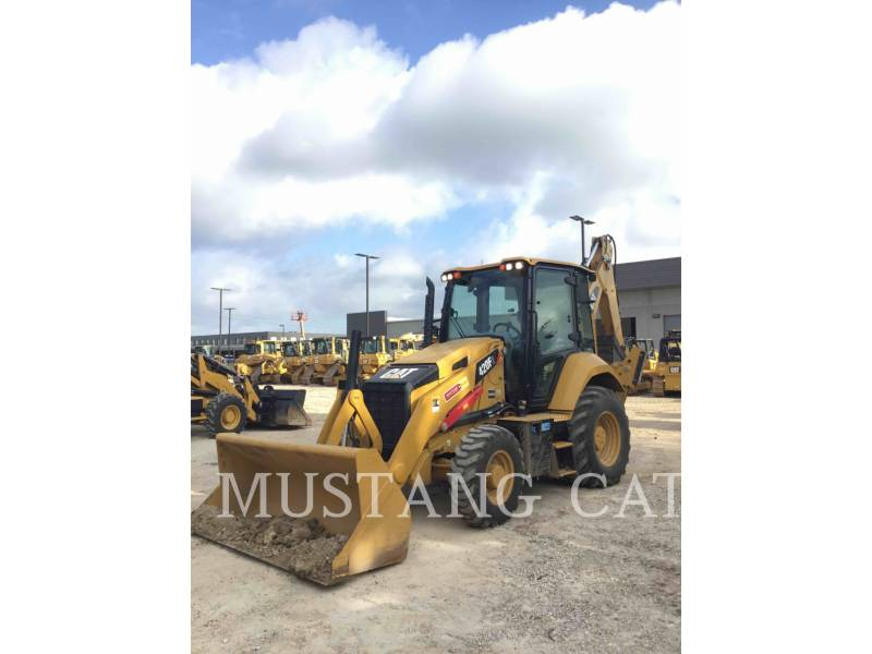 CATERPILLAR BAGGERLADER 420F2 4SCA equipment  photo 2