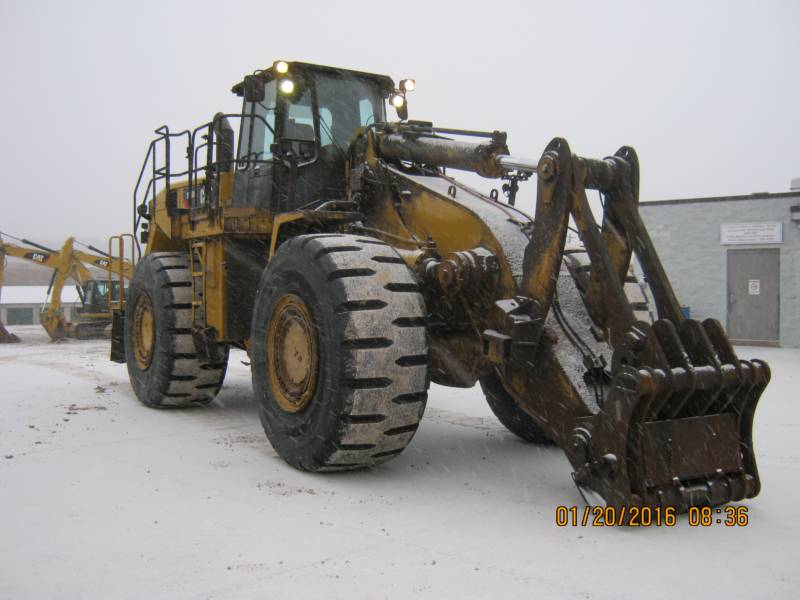 CATERPILLAR CHARGEURS SUR PNEUS MINES 988H equipment  photo 3