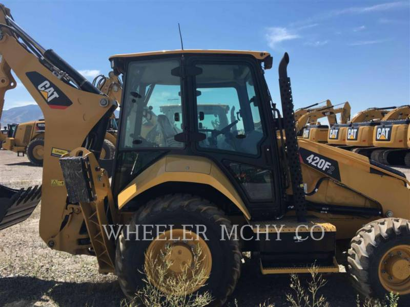 CATERPILLAR BAGGERLADER 420F2 E CF equipment  photo 4