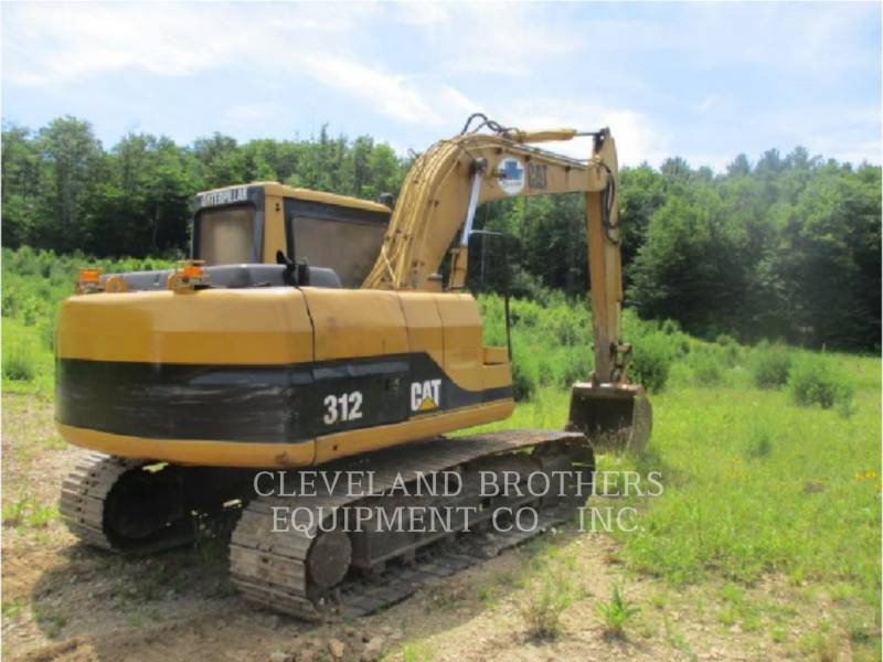 CATERPILLAR TRACK EXCAVATORS 312 equipment  photo 3