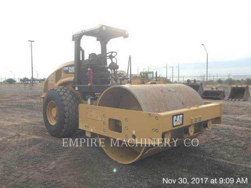 CATERPILLAR VIBRATORY SINGLE DRUM PAD CS56B equipment  photo 1