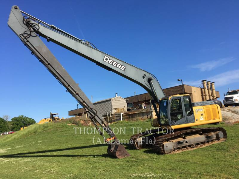 JOHN DEERE PELLES SUR CHAINES 270DL equipment  photo 12