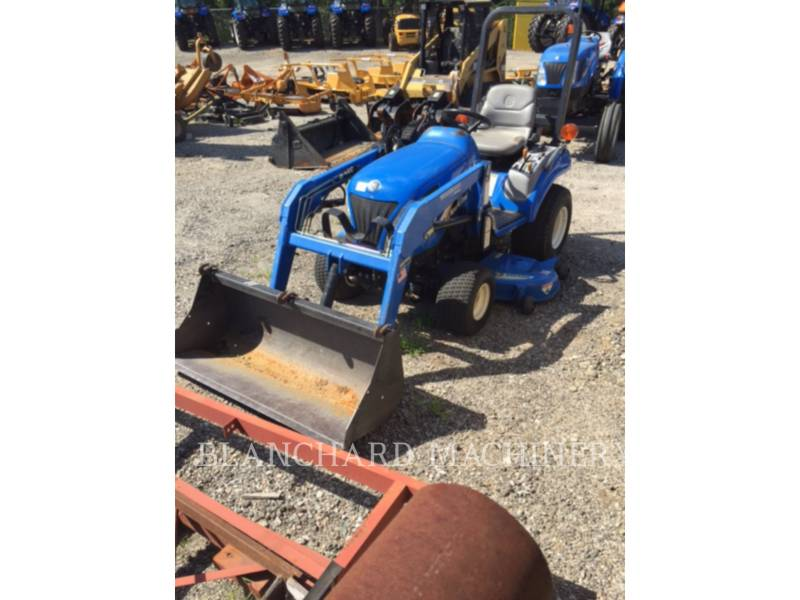 NEW HOLLAND LTD. AG TRACTORS TZ22DA equipment  photo 2