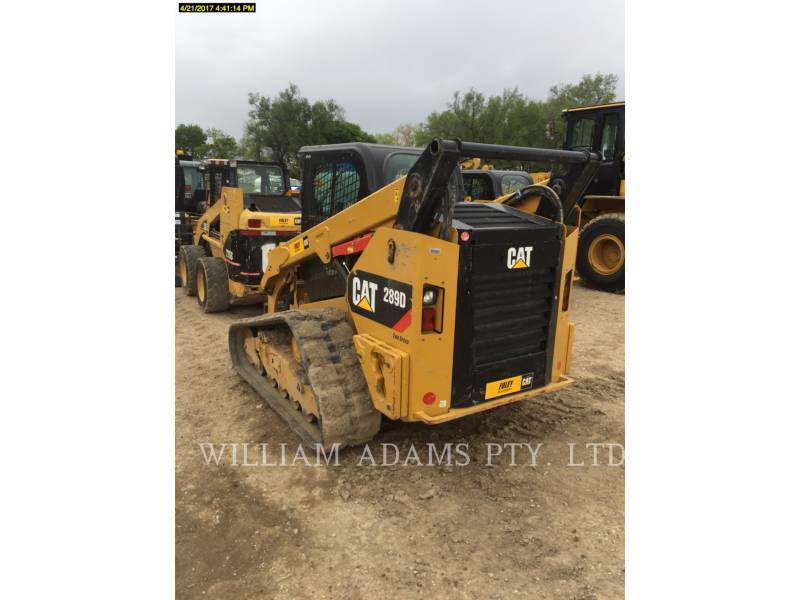 CATERPILLAR MULTI TERRAIN LOADERS 289D equipment  photo 2