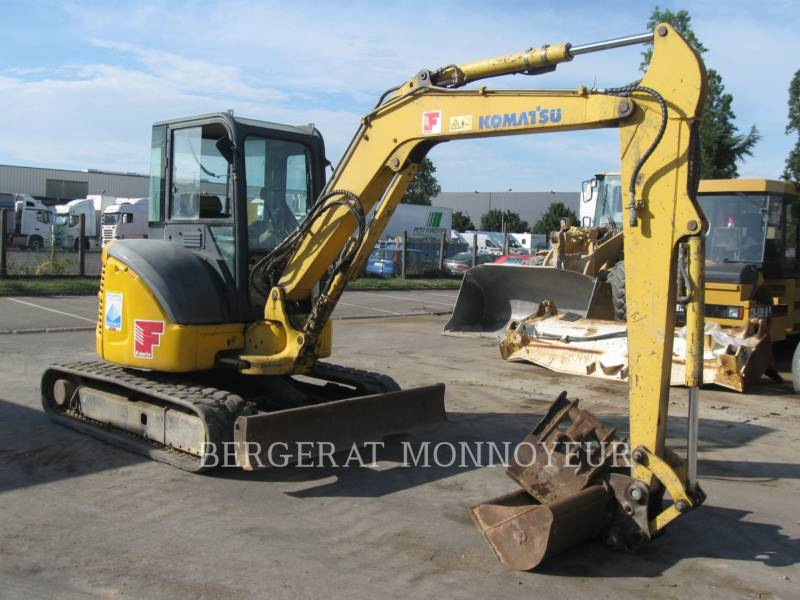 KOMATSU TRACK EXCAVATORS PC50MR.2 equipment  photo 8