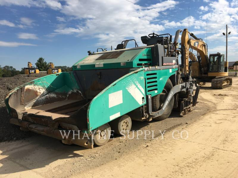 VOEGELE AMERICA ASPHALT PAVERS 5203-2 equipment  photo 2