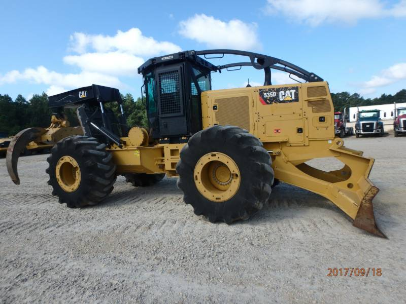 CATERPILLAR EXPLOITATION FORESTIÈRE - DÉBARDEURS 535D equipment  photo 1