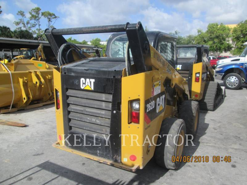 CATERPILLAR SCHRANKLADERS 262D equipment  photo 2