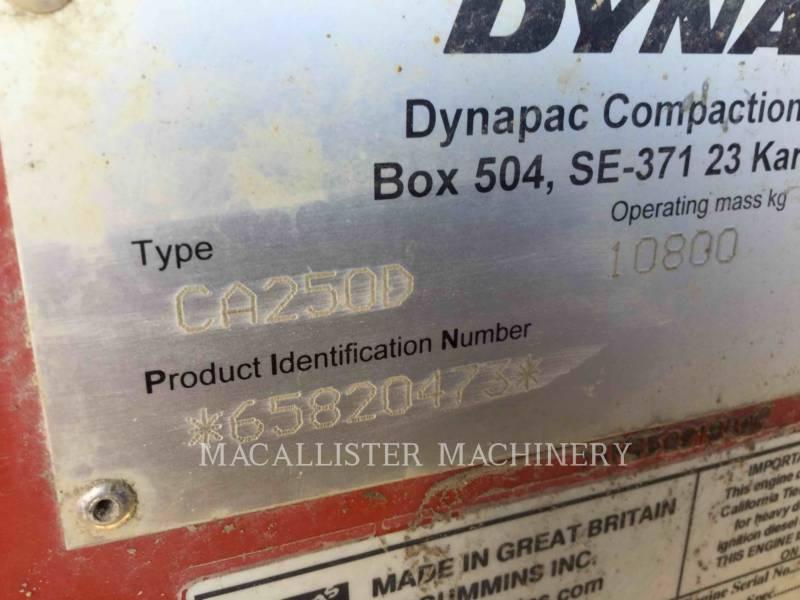 DYNAPAC COMPACTADORES CON RUEDAS DE NEUMÁTICOS CA250D equipment  photo 4