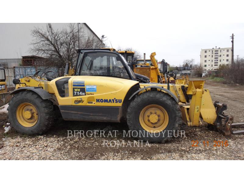 KOMATSU TELEHANDLER WH 714 H equipment  photo 8