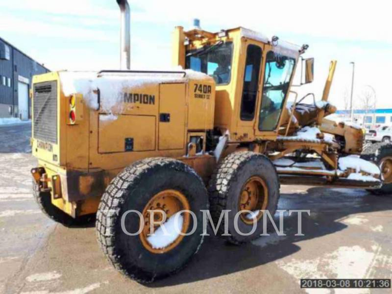 CHAMPION MOTORGRADER 740A equipment  photo 4