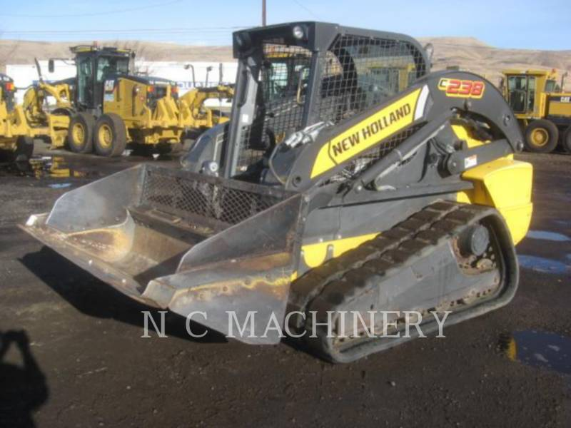 NEW HOLLAND CHARGEURS COMPACTS RIGIDES C238 equipment  photo 1