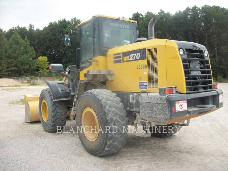KOMATSU WHEEL LOADERS/INTEGRATED TOOLCARRIERS WA270 equipment  photo 4