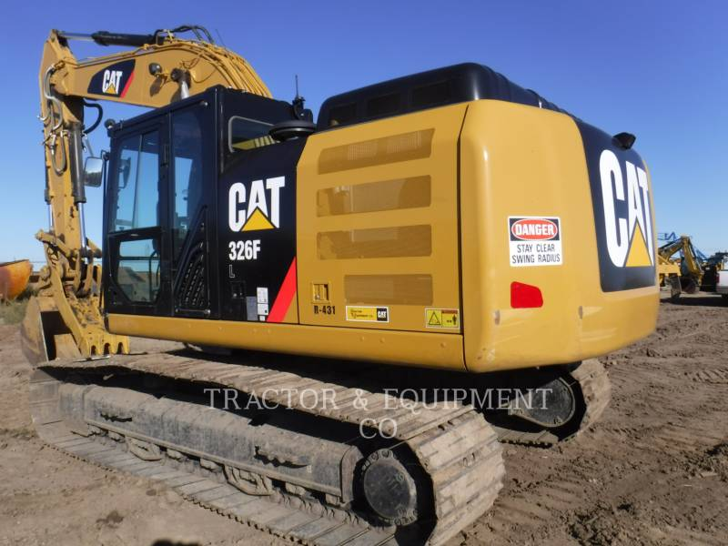 CATERPILLAR EXCAVADORAS DE CADENAS 326F L equipment  photo 2
