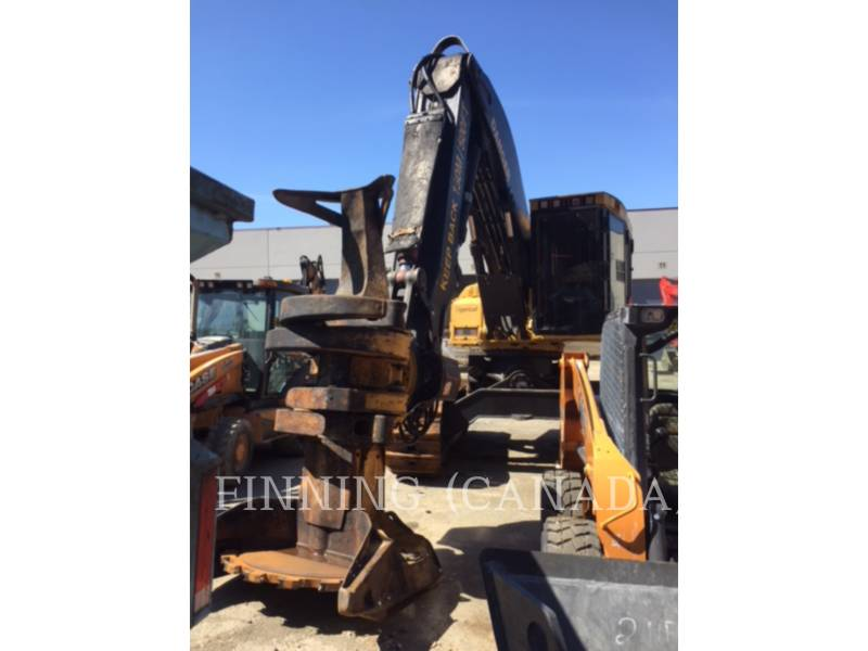 TIGERCAT FORESTRY - FELLER BUNCHERS - TRACK L870C equipment  photo 2