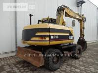 CATERPILLAR PELLES SUR PNEUS M315 equipment  photo 4