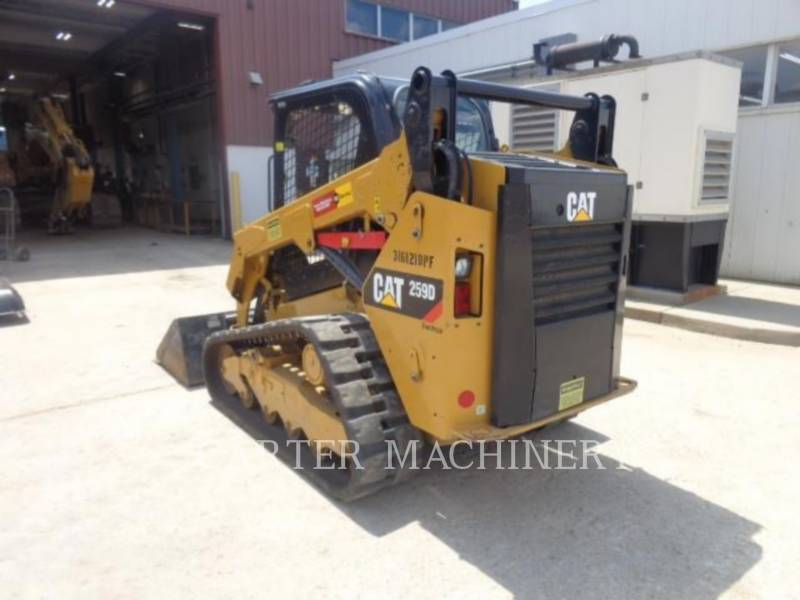 CATERPILLAR KOMPAKTLADER 259D CYW equipment  photo 4