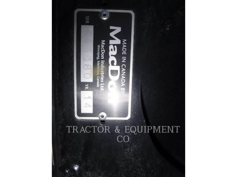 MACDON WT - コンバイン・ヘッダ FD75-S equipment  photo 2