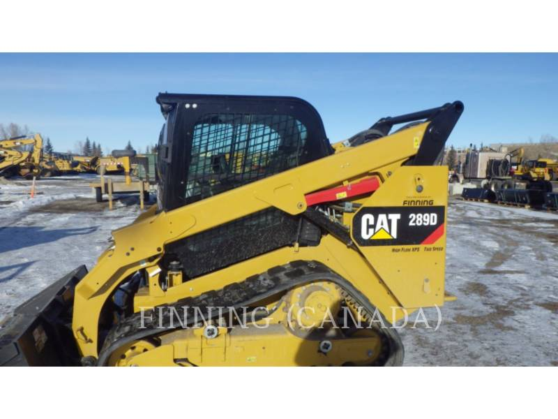 CATERPILLAR UNIWERSALNE ŁADOWARKI 289DXPS equipment  photo 2