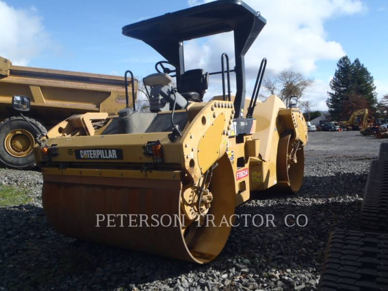 CATERPILLAR VIBRATORY DOUBLE DRUM ASPHALT CB54 XW equipment  photo 5