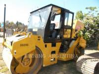 Equipment photo CATERPILLAR CB-534D ROLO COMPACTADOR DE ASFALTO DUPLO TANDEM 1