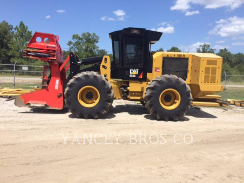 CATERPILLAR FORESTRY - FELLER BUNCHERS 553C equipment  photo 5