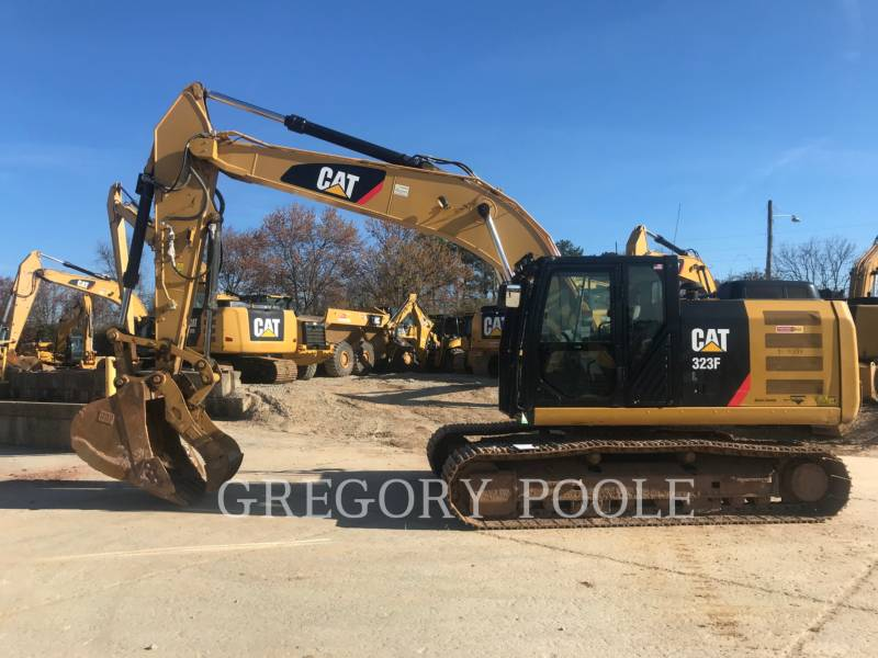 CATERPILLAR EXCAVADORAS DE CADENAS 323F L equipment  photo 1