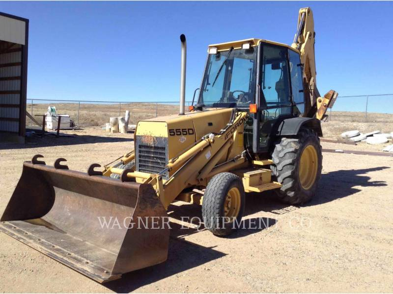 NEW HOLLAND LTD. BACKHOE LOADERS 555 equipment  photo 1