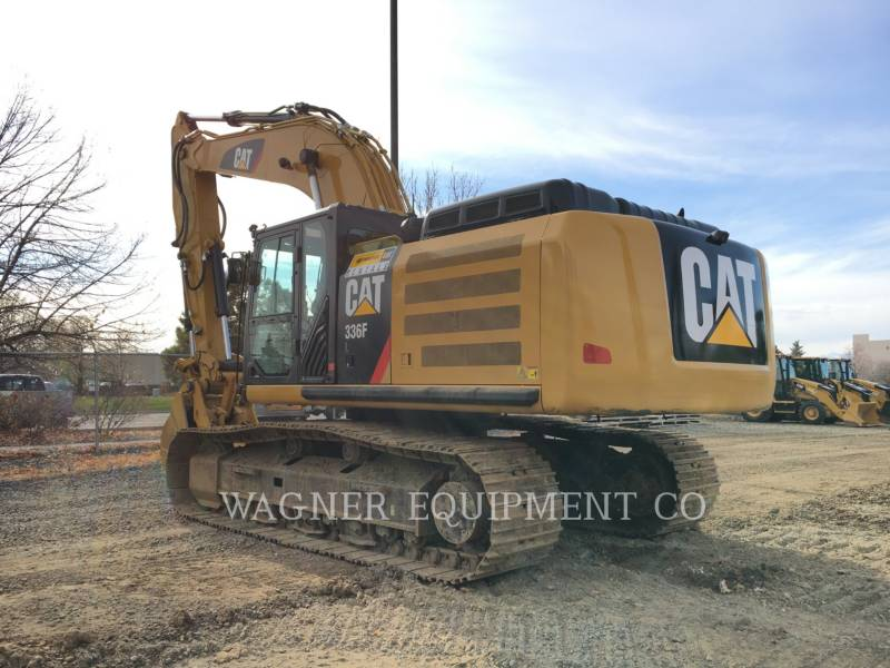 CATERPILLAR TRACK EXCAVATORS 336FL THB equipment  photo 2
