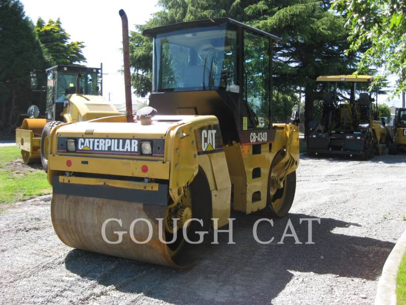 CATERPILLAR VIBRATORY DOUBLE DRUM ASPHALT CB-434D equipment  photo 3